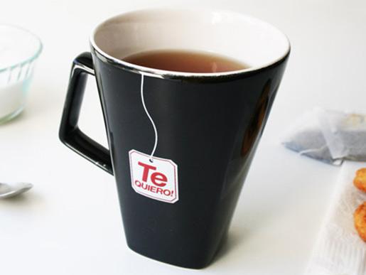 Omnipresentes taza te quiero 350ml for Tazas de te inglesas
